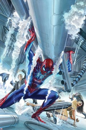 The Amazing Spider-Man #16 Cover Art by Alex Ross