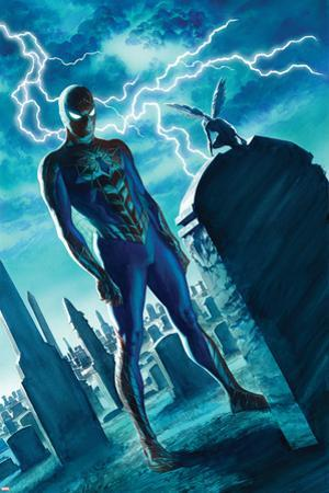 The Amazing Spider-Man #19 Panel by Alex Ross