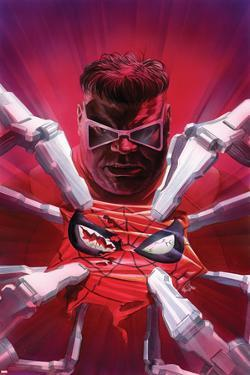 The Amazing Spider-Man #20 Cover Art Featuring Doctor Octopus, Spider-Man by Alex Ross