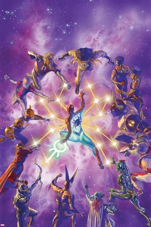 The Amazing Spider-Man No. 11 Cover Art Featuring: Zodiac, Spider-Man by Alex Ross