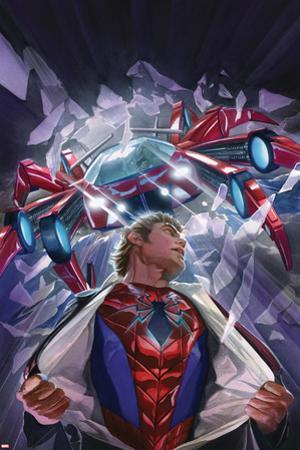 The Amazing Spider-Man No. 8 Cover Featuring Parker, Peter, Spider-Man by Alex Ross