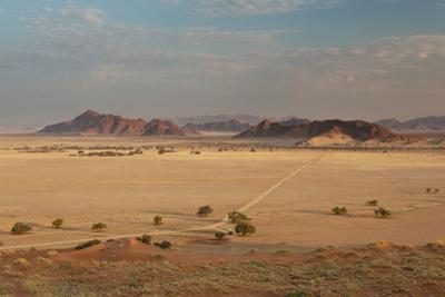 A Beautiful Landscape in Namib-Naukluft National Park, Taken from the Top of Elim Dune by Alex Saberi