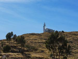 A Church Near Lake Titicaca by Alex Saberi
