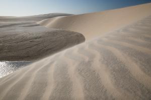 A Sand Dune Near Jericoacoara, Brazil by Alex Saberi