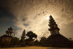 A Temple Near Hoi An by Alex Saberi