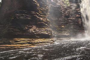 Cachoeira Buracao Waterfall in the Chapada Diamantina National Park by Alex Saberi
