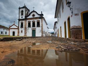 Capela De Santa Rita, An Old Historic Church in Paraty by Alex Saberi