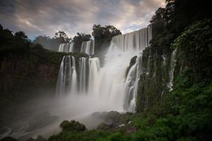Iguazu Falls at Sunset by Alex Saberi