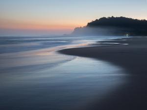 Juquehy Beach at Sunrise by Alex Saberi