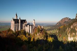 Neuschwanstein Castle in Autumn by Alex Saberi
