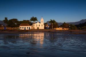 Nossa Senhora Das Dores Church in Paraty at Sunrise by Alex Saberi