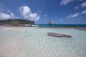 Praia Da Atalaia Beach on Fernando De Noronha by Alex Saberi
