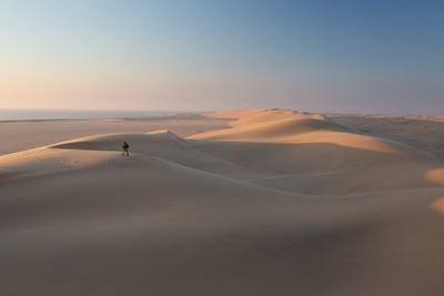 Sand Dunes Near Swakopmund in Namibia