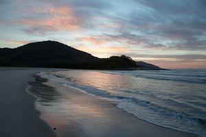 Sunrise on Camburi Beach in Brazil by Alex Saberi