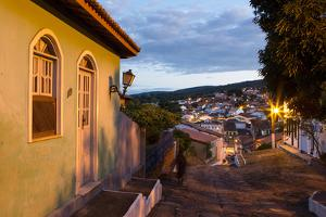 The Charming Town of Lencois in Chapada Diamantina National Park at Dusk by Alex Saberi