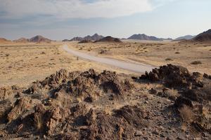 The Namib-Naukluft National Park at Sunset by Alex Saberi