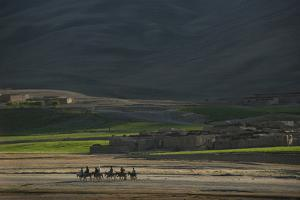 A Small Village in Bamiyan Province, Afghanistan, Asia by Alex Treadway