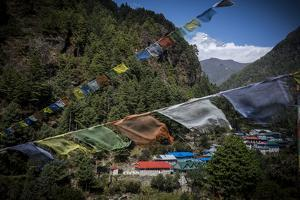 A Small Village in the Lukla Valley at the Beginning of the Trek to Everest Base Camp by Alex Treadway