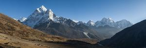 Ama Dablam and the Khumbu Valley, Himalayas, Nepal, Asia by Alex Treadway