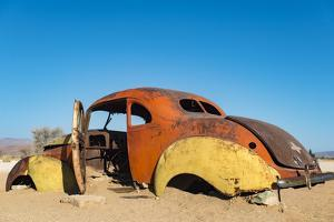 An Abandoned Car Near the Small Town of Solitare in Namibia by Alex Treadway