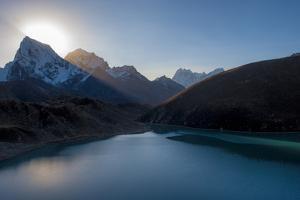 Gokyo Lake in the Everest Region, Himalayas, Nepal, Asia by Alex Treadway
