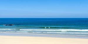 Gwithian Beach in Cornwall, England, United Kingdom, Europe by Alex Treadway