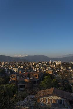 Kathmandu and the Ganesh Himal Mountain Range from Sanepa by Alex Treadway