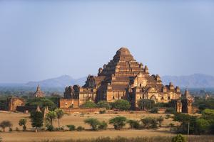 One of the many temples at Bagan (Pagan), Myanmar (Burma), Asia by Alex Treadway