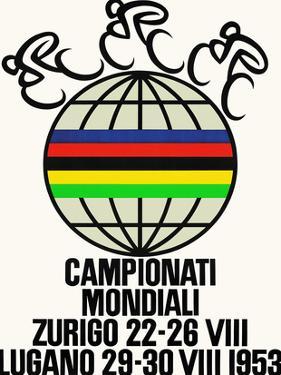 Campionati Mondiali. Bucycle Race, 1953, Zurich, Lugano by Alex W. Diggelmann