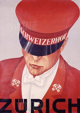Schweizerhof, Zurich by Alex W. Diggelmann