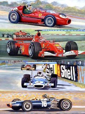 Formula One, 2008 by Alex Williams