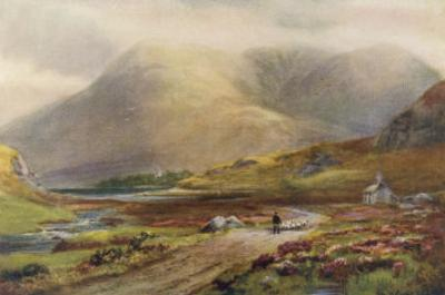 Irish Scenery: Pass of Delphi Killary Bay