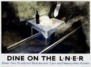 Dine on the Liner by Alexander Alexeieff