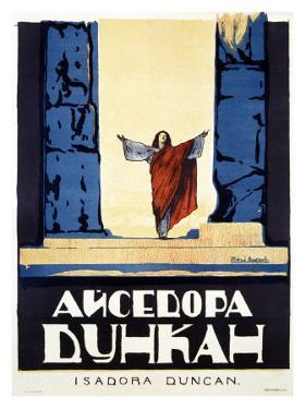 Isadora Duncan by Alexander Alexeieff