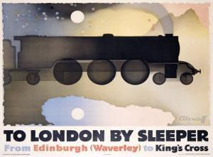 To London by Sleeper by Alexander Alexeieff