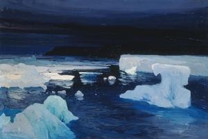 Polar Ice, 1904 by Alexander Borisov