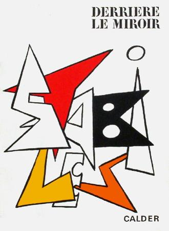 Derrier le Mirroir, no. 141: Stabiles I by Alexander Calder