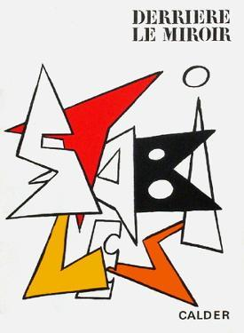 Derrier le Mirroir, no. 141: Stabiles I by Alexander Calder