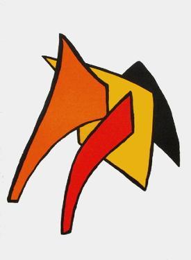 Derrier le Mirroir, no. 141: Stabiles VI by Alexander Calder