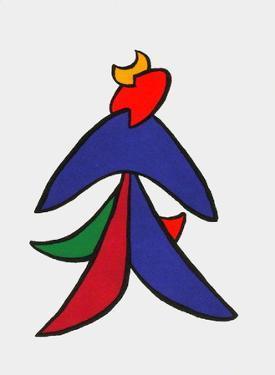 Derrier le Mirroir, no. 141: Stabiles VII by Alexander Calder