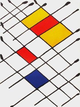 Derrier le Mirroir, no. 156: Damier by Alexander Calder