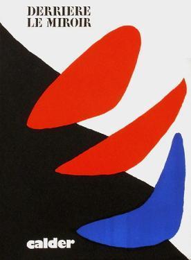 Derrier le Mirroir, no. 190: Composition I by Alexander Calder