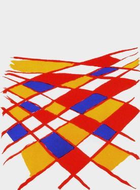 Derrier le Mirroir, no. 190: Composition II by Alexander Calder