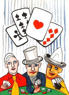 Derrier le Mirroir, no. 212: Joueurs De Cartes I by Alexander Calder