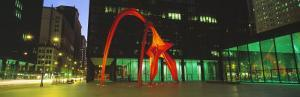 Alexander Calder Flamingo, Chicago, Illinois, USA
