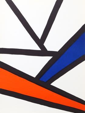 Intersections from Derriere Le Miroir by Alexander Calder