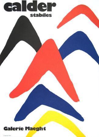 Stabiles, 1971 by Alexander Calder