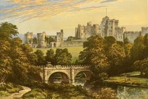 Alnwick Castle by Alexander Francis Lydon