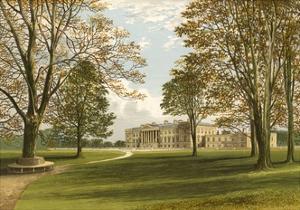 Hamilton Palace by Alexander Francis Lydon