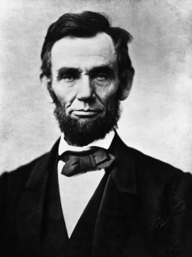 Abraham Lincoln, 1863 by Alexander Gardner